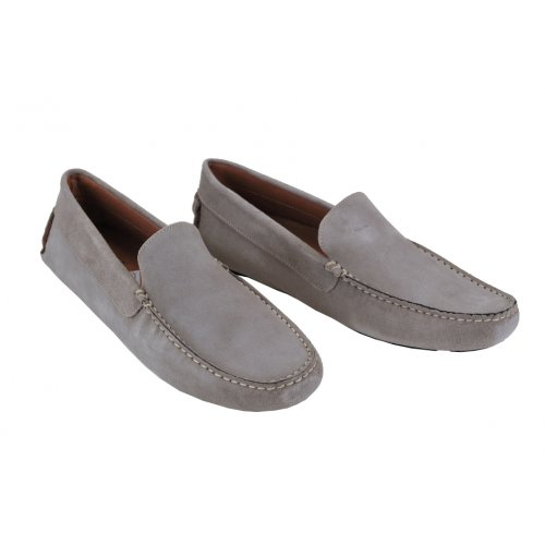 f9defd23d154 ZEUS športové semišové topánky sivé