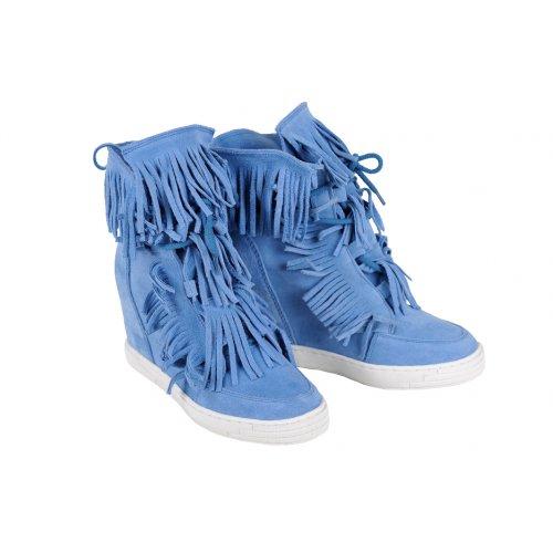 94eae84d7605 DAPI tenisky strapcové modré