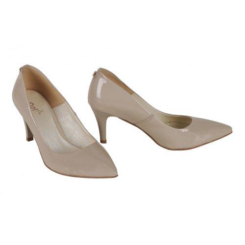 93ba015f6 DAPI lodičky koža lak béžové | Kožené topánky