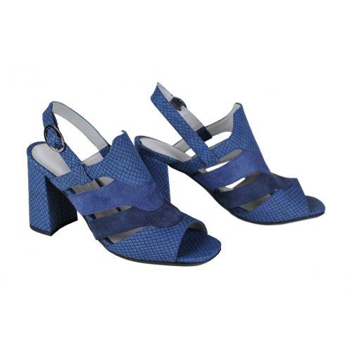 6559aac562 GERRY WEBER sandále štruktúrovaná koža modré