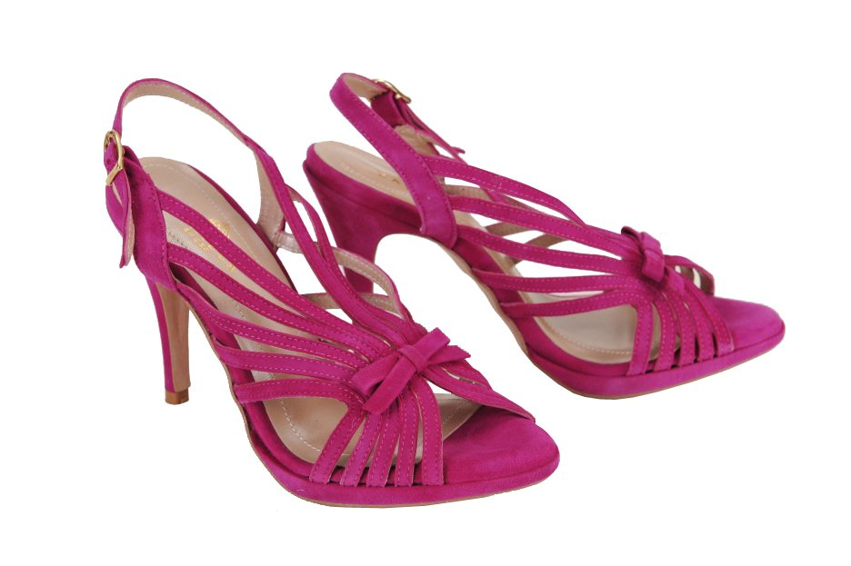 d04c52fbe881 DANIELA SHOES sandále koža nubuk cyklaménové