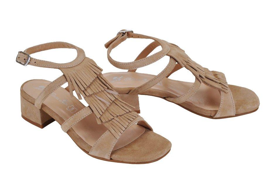 6b34d0d205f0 MARIA JAÉN sandále koža semiš béžové
