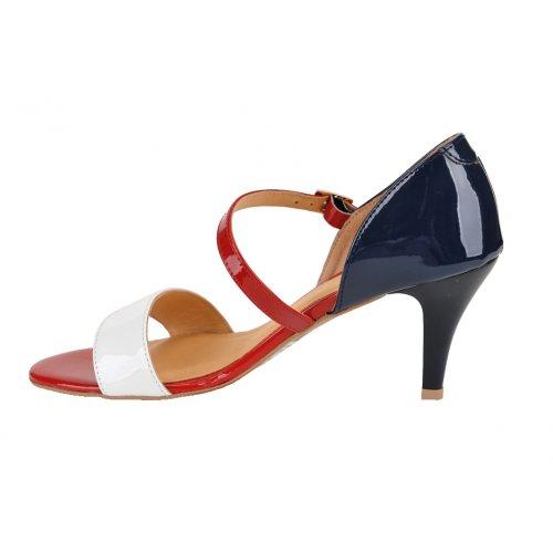 76d68cf4d7a9 HUJO sandále koža bielo modro červené