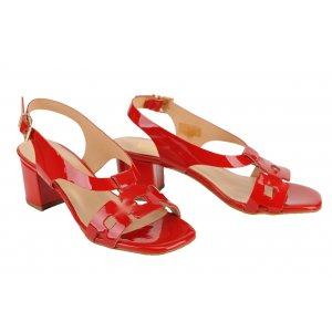 556937567d6b DESIGN FRANK sandále koža lak červené